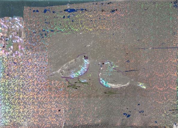 20-Kroner-Denmark-foil-on-canvas-9x12-inches.jpg