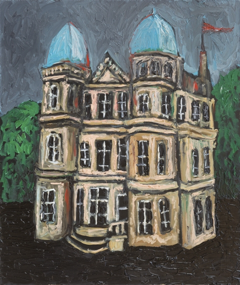 Boyan, The Count of Monte Cristo's House, oil on wood, 2015, 33.5X28.2 cm.jpg