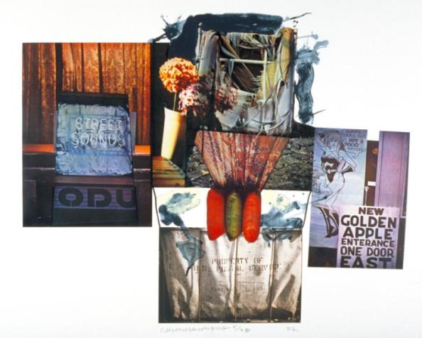 Street Sounds 1992 by Robert Rauschenberg 1925-2008