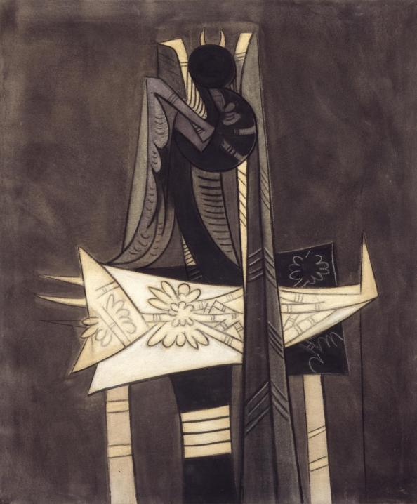 Ibaye 1950 by Wifredo Lam 1902-1982