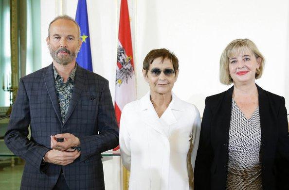 Bekanntgabe der Kunstbiennale-Kommiss‰rin Christa Steinle