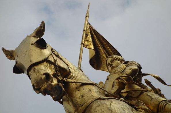"""Elisabeth Wörndl, aus der Serie """"Jeanne d'Arc"""", 2015/16,"""