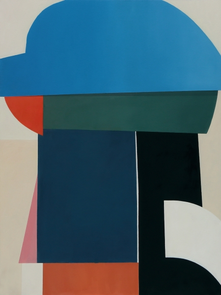bb-blue-hat-oil-on-canvas-200x150cm-2016