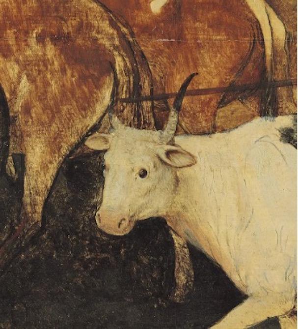 Pieter Bruegel the Elder The Return of the Herd 1565 // oak panel,  // Vienna, Kunsthistorisches Museum, Picture Gallery, inv. no. 1018